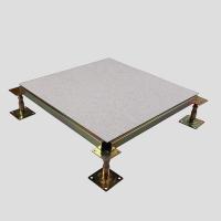 宁波硫酸钙防静电地板监控室用全钢抗压耐磨好品质