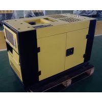 睿德R2V88双缸风冷柴油发电机组 10KW柴油发电机组 14HP静音单相带ATS黑黄款