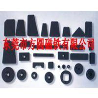 磁铁厂价供电子感应器用永磁铁氧体黑色小磁环