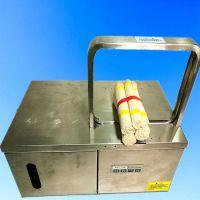 吉林 大直径挂面扎捆机 打捆机 机器时间2.8秒 鲁强机械
