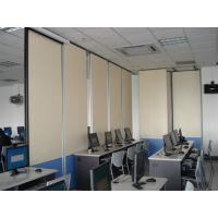 深圳南山会议室移动伸缩屏风隔断供应|可360度全方位旋转移动伸缩屏风隔断