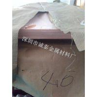 环保C1100精密紫铜板 纯铜大板1000*2000现货 紫铜板材贴膜加工
