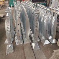 金聚进 厂家供应304不锈钢防撞桥梁护栏 河道景观隔离栏杆交通护栏