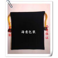 厂家定制绒布袋 绒布束口袋 电子产品袋 礼品袋 可印logo