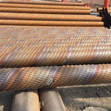 钢花管、打井螺旋钢管、273*6无缝管、井壁管滤水管厂家