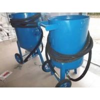 供应揭阳威腾大型除锈移动式喷砂机 油罐翻新开放式喷砂机