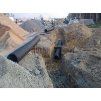 市政排污用hdpe双壁波纹管_山东污水排放波纹管厂家