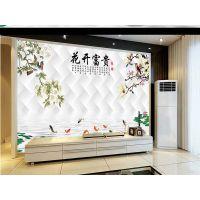 3D5D图案uv平板打印机 家装背景墙竹木纤维板uv数码印花设备