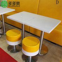 茶餐厅大理石桌 连锁餐厅桌椅 快餐厅大理石桌