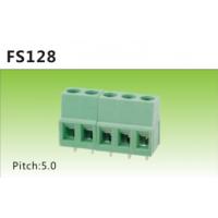 供应接线端子KF128 DA128-2P绿色直针、弯针端子