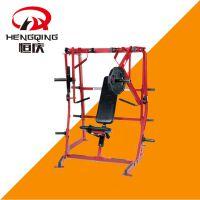 下斜推胸训练器 胸部训练器 悍马系列 健身器材运动力量 大型健身器械 健身房