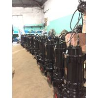 wq无堵塞污水泵32WQ12-15-1.1全铜电机寿命更长qw潜水式排污泵