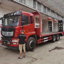 国五商用随专东风240马力后八轮挖掘机运输车4.0L排量