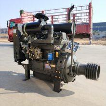 潍坊潍柴ZH4100P水泥罐车柴油发动机 40千瓦55马力带离合器发动机