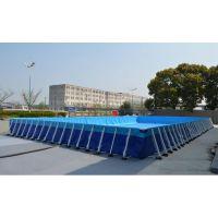 水世界支架泳池设备要多少钱 大型气垫水滑梯哪买 可以安装的支架游泳池定做