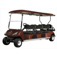 玛西尔DG-6+2八人座白色休闲电动高尔夫球车