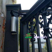 小区电动开门器生产厂家选择冷雨LEY品牌 中国高档小区人行通道自动闭门器 庭院防盗门电机