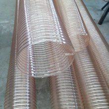 山东厂家直销聚氨酯系列钢丝伸缩吸尘管通风管批发