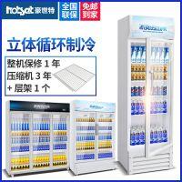 豪世特展示柜 立式 饮料柜 商用保鲜柜 展示柜 立式饮料柜便利店