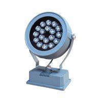 供应东莞七度照明圆形景观亮化防水LED景观投光灯