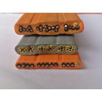 起重机电缆 行车控制扁电缆 拖链耐磨平电缆
