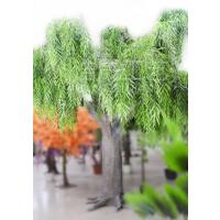 东莞浩晟专业制作玻璃钢仿真大树 过胶手感叶 pe材质 仿真大树都是用什么材质做的,环保吗?