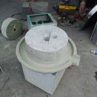 香油芝麻酱石磨设备 生产电动香油小石磨40型 家用小型石磨