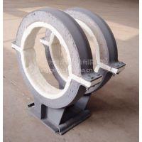 滑动管托专业厂家 碳钢隔热管托标准芳擎牌