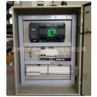 施耐德双电源控制箱 机房电源箱配电箱 网络监控设备箱控制柜组装