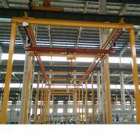 辰泓非标定制KBK悬挂单梁起重机轻轨吊自立式起重机
