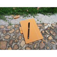日本暖色手账本定制哪家专业?华唐专业仿皮笔记本皮套定制厂商