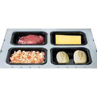盒饭包装机快餐盒饭保鲜包装机盒饭封盒封碗气调保鲜包装机