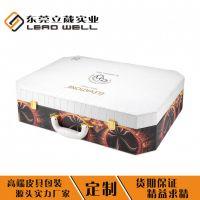 东莞品牌中高端方形手提式化妆品套盒批发定制化妆品皮盒包装厂家