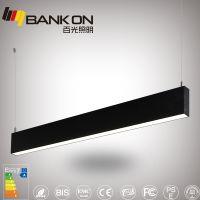百光照明定制款吊线灯 上下出光免接线led线条灯 SMD贴片光源30W线条灯