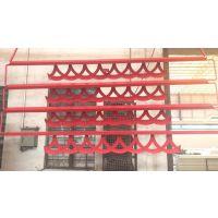沈阳区酒店大堂中国结红色波浪形铝单板指定销售商