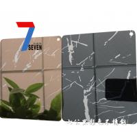不锈钢退钛花纹板 不锈钢退钛加工 双色退钛不锈钢板价格 不锈钢局部退钛花纹板
