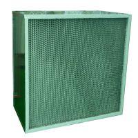 东莞卓维耐高温高效过滤器 烤箱高温过滤器 有隔板耐温过滤器