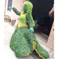 假雕塑的厂家?抽象人物雕塑玻璃钢贴假草皮人物现货仿绿雕羊人造草皮牛地产摆设