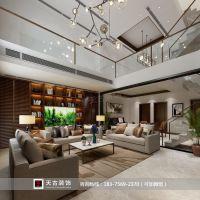 同景国际别墅装修案例|现代风格|天古装饰设计师贾波作品