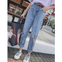 工厂便宜清货库存牛仔裤时尚杂款女士铅笔裤清货库存服装清货