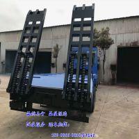 解放310马力国五前四后八挖机拖车价格/CLW5312TPBC5型平板运输车