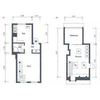 长沙室内家装49㎡复式小公寓,简约明亮太好看了
