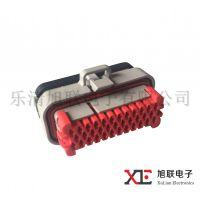 优质汽车防水连接器AMP770680-1国产35芯现货