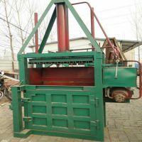 立式玉米秸杆打包机80吨 废料废纸 药材 棉花 稻草秸杆打包机 批发销售液压打包机