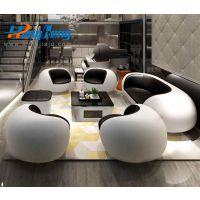 上海办公家具厂定制休闲办公沙发-L20