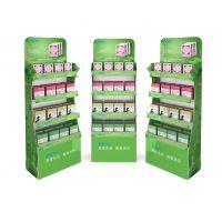 品质款面膜小型展示架 塑胶PVC板商品陈列架 超市促销用道具订做