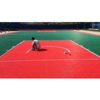 户外球场拼装悬浮地板_篮球场地面材料