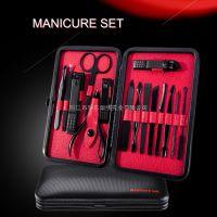美指甲刀家用指甲钳指甲剪修脚套装 不锈钢15件套专业修甲工具