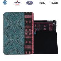 广东ipad保护套带支架棉布复古印花图案新款电脑配件OEM工厂订做加工