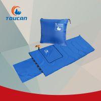 图橙户外TOUCAN-TRSD998宝蓝抱枕信封式户外睡袋